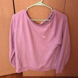 Victoria's Secret PINK Open Back Sweatshirt